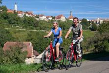 Cycling tour in Franconia