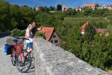 Cycling tour along the Romantic Road