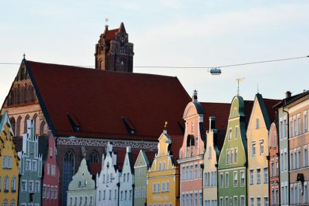 A cycling holiday in lower Bavaria - Landshut
